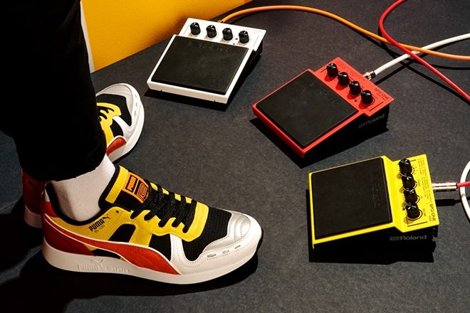 Roland x Puma unbox second 808 inspired sneaker