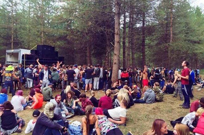 """On' On  >> Police allowed an illegal forest rave go on 'cause there was no """"disturbance""""   Finest of EDM"""