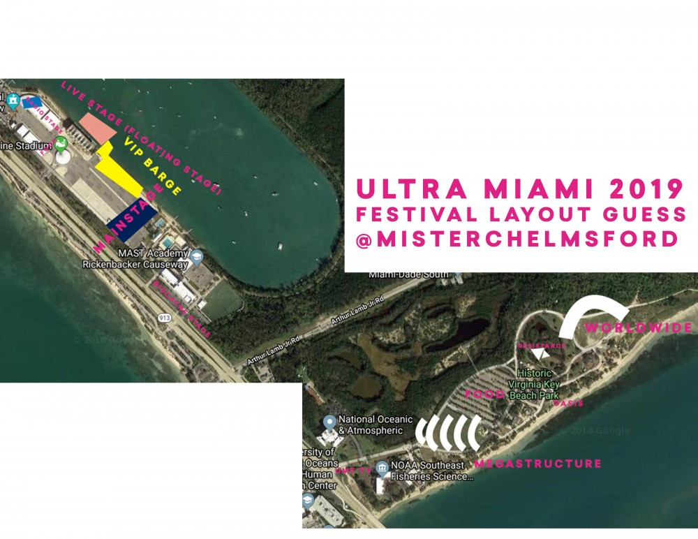 Reddit Begins To Speculate New Layout Of Ultra At Virginia Key